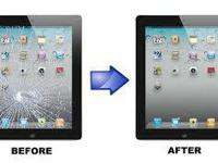 WE REPAIR GLASS SCREENS & LCD IPHONES, IPADS, TABLETS,