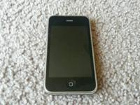 apple iphone 3 excellent used condition factory reset
