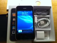 This an iphone 3GS 32GB black, smartphone and unlock,