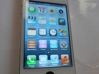 Here is one of our phones - an Apple iPhone 4 32GB