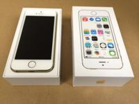 Pre-Owned iPhone 5s 16gb gold in flawless condition.