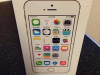 Type: Apple iPhone Type: 5S 64GB NEW COMES WITH