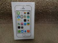 This is a brand new Apple iPhone 5s 32 GB in the