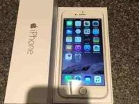 """Apple IPhone 6 plus +(latest model) 64GB-silver (all"