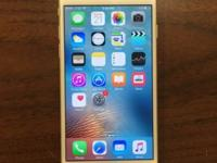 Apple iPhone 6 White and Gold 64gb for AT&T Excellent