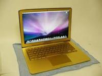 Type:LaptopsMac book apple laptop .gold 13 mm thin ..at