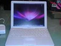 CALL  IBOOK G4 512 GB ram bluetooth wi-fi WITH A FRESH