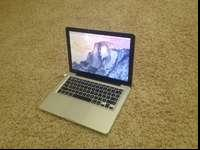 This MacBook is mint condition like new. It has