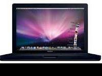 Apple MacBook Black 13.3in Laptop C2D 2.16GHz 4GB 160GB