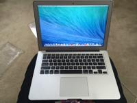 Up for sale is an Apple Macbook Air. It is like new!