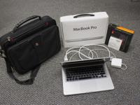 For sale is a slightly used Apple MacBook Pro MD101LL/A