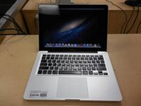 Apple Macbook.  Rate was $600, now only $575.  Specs:.