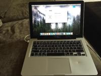 This MacBook Pro works very well. It is updated to the