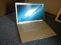 "15.4"" Apple MacBook Pro 2.5 Ghz Intel Core 2 Duo, 4GB"