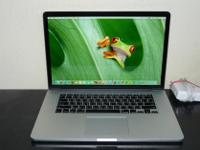 Type: Laptops Type: Apple MacBook Screen Size15.4
