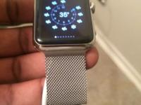 42 MM Stainless Steel Apple Watch. Brand new. It was an