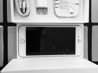 New open box silver iPhone 6+128 GB never activated,