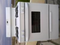 Type:Bathroom White used gas stove ,bought brand new