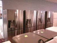 PRICES SLASHED, WE CARRY ALL NAME BRAND APPLIANCE,