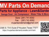 Appliance Parts Store open to the public in Houston. We