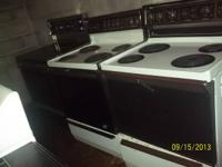 Appliances for sale 30 day warranty located at 3 Roby