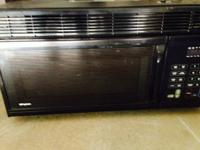 Frigidaire over stove microwave