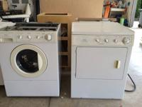 We are selling a Frigidare Gallery stacked washer &