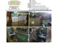 Appliances Stainless Steel Ovens, Refrigerators, MUCH
