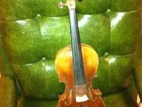 This is a Stainer Violin from approx. 1890. Must sell.