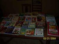 Have around 38 cookbooks that I am going to sell as a