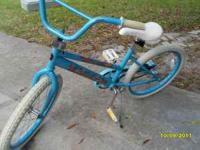 for sale; Aqua Blue Girls 20 inch 55 dollars at Wally