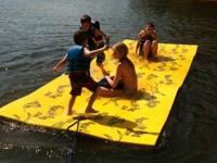 Aqua Lily Pad, Floating Water Mat, LAKE TIME!! - Hitch