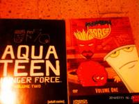 I have 2 season of Aqua teen hunger force  both in