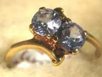 Stock #73 $95.00 This beautiful ring is a 14 karat gold