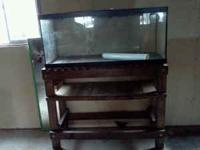 beautiful Aquarium with stand asking $ 100 call