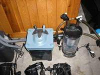 I have for sale aquarium fish tank canister filters,
