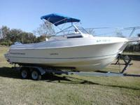 Boat, Motor, and Trailer all is in good condition. 200