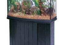 I have a black 46 gal. Aqueon bow front glass fish tank