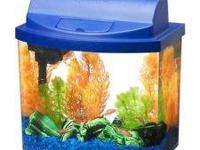 Kit includes an acrylic bowl front tank, Mini Bow water