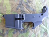 For sale AR lower receiver 80 % finished. Found in