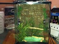 I have a brand new zoo med arboreal cage. Never used. I