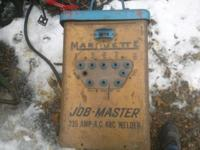 I have for sale a Marquette job master needs cables