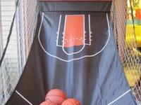 Barely used Triump Sports Basketball Arcade only been