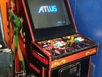 This is a custom arcade game. It made use of to be a
