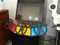Have two arcade games to sell:  Super Off Road - comes