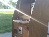 Empty poker device arcade machine 5' tall 2' broad x 2'