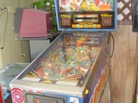 We repair arcade machines,pinball machines and slot