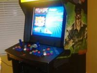 Had to sell this arcade as I am moving. Arcade cabinet
