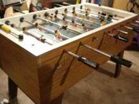Commercial Arcade Style Fooseball Table Coin Operated