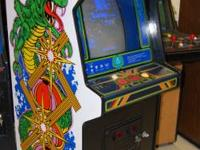 We have a bunch of arcade machines for sale or trade